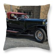 1927 Isotta Fraschini Tipo 8a Roadster Throw Pillow