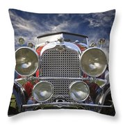 1928 Auburn Model 8-88 Speedster Throw Pillow