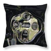 1928 Ford Model A Tudor Interior Throw Pillow