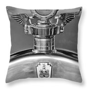 1928 Pierce-arrow Hood Ornament 2 Throw Pillow