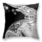 1928 Studebaker Hood Ornament 3 Throw Pillow
