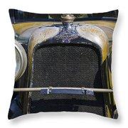 1929 Duesenberg Model J Convertible - Barn Fresh Throw Pillow