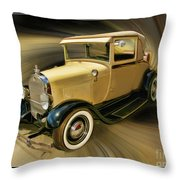 1929 Ford Throw Pillow