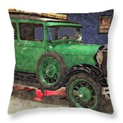 1929 Ford Model A By Liane Wright Throw Pillow