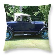 1929 Model-a Roadster 4 Throw Pillow