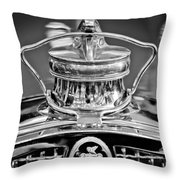 1929 Packard 8 Hood Ornament 4 Throw Pillow
