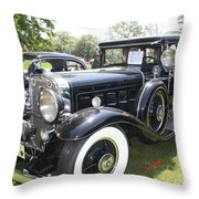 1930 Cadillac V-16 Imperial Limousine Throw Pillow