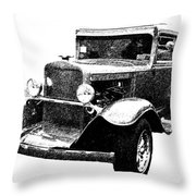1930 Chevy Throw Pillow