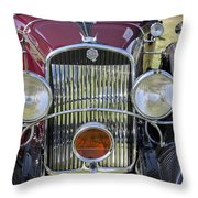 1930 Chrysler Model 77 Throw Pillow