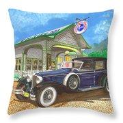 1930 Cord L Towncar Throw Pillow