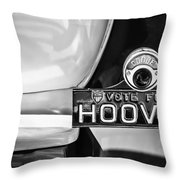 1930 Db Dodge Brothers Taillight Emblem -030bw Throw Pillow