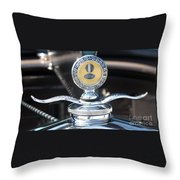 1930 Ford Model A - Hood Ornament - 7488 Throw Pillow
