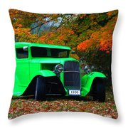 1930 Ford Sedan Delivery Truck  Throw Pillow