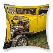 1930 Model A Coupe Throw Pillow