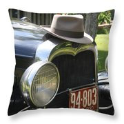 1930 Model-a Town Car 2 Throw Pillow