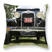 1930 Model-a Tudor 3 Throw Pillow