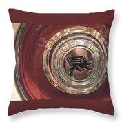1930 Ruxton Wheel Throw Pillow