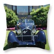 1930's Alfa Romeo Throw Pillow