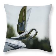 1930s Packard Throw Pillow