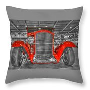 1931 Chevy Roadster Convertible Throw Pillow