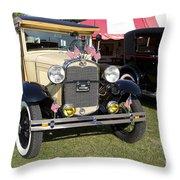 1931 Ford Model-a Car Throw Pillow