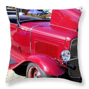 1931 Ford With Rumble Seat Throw Pillow