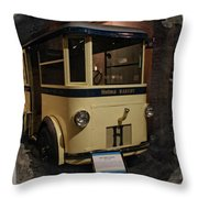 1931 Helms Bakery Truck Square Throw Pillow
