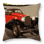 1932 Bugatti - Featured In 'comfortable Art' Group Throw Pillow