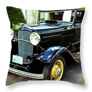 1932 Ford Cabriolet Throw Pillow
