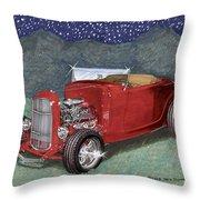 1932 Ford High Boy Throw Pillow