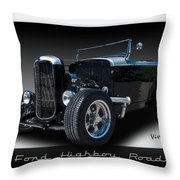 1932 Ford Highboy Roadster Throw Pillow