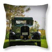 1932 Frontenac 6-70 Sedan  Throw Pillow