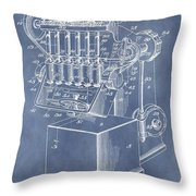 1932 Machine Patent Throw Pillow