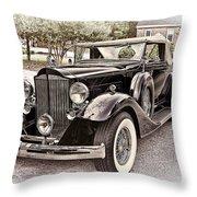1932 Packard 903 Victoria Throw Pillow