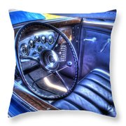 1932 Packard V12 Convertible Coupe-roadster V2 Throw Pillow