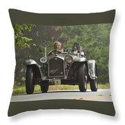 1933 Alfa Romeo 8c Corto Touring Spyder Throw Pillow by Jill Reger