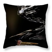 1933 Cadillac Emblem Throw Pillow