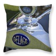1933 Delage Throw Pillow