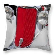 1933 Dodge Sedan Throw Pillow