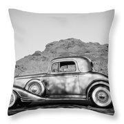 1933 Pontiac -0008bw Throw Pillow