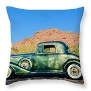 1933 Pontiac -0008c Throw Pillow