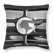 1933 Pontiac Emblem -0467bw Throw Pillow