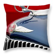 1933 Pontiac Street Rod Hood Ornament Throw Pillow