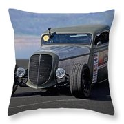 1934 Ford 'autocross' Coupe 2 Throw Pillow