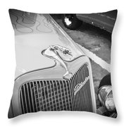 1934 Ford Hot Rod Throw Pillow