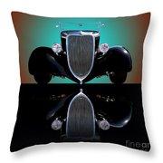 1934 Ford Phaeton Convertible Throw Pillow