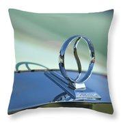 1934 Studebaker Hood Ornament Throw Pillow