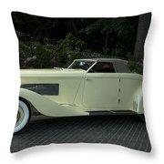 1935 Duesenberg J Roadster  Throw Pillow