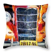 1935 Ford Coupe Throw Pillow