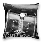 1935 Frazer Nash Tt Replica Shelsley -0223bw Throw Pillow